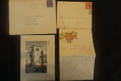 Nice Collection Of 21 Oberlin Ohio Postal History Items Postcards Letters Mach