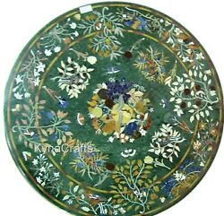 Round Marble Dining Table Top Mosaic Art Office Table From Heritage Crafts 36