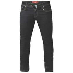 Duke Mens Cedric King Size Tapered Fit Stretch Jeans