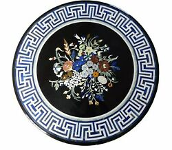 Round Marble Dining Table Top Antique Design Conference Table For Home 36 Inches