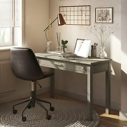 Simplihome Avalon Solid Wood Contemporary Modern 47 Inch Wide Home Office Desk