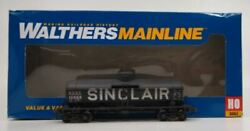 Walthers 910-1009 Ho Scale Sinclair 36and039 10k Tank Car Sdrx 10896 Ln/box