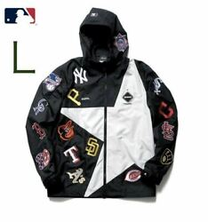 Fcrb21aw Mlb Tour All Team Big Star Jacket F.c.real Bristol Soph Hooded Size