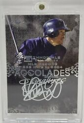 Mlb Ichiro 13 Immortals Collection 262 Hits Limited To Autograph Cards