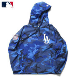F.c.real Bristol 21aw Mlb Tour Packable Anorak Parka Hoodie Jersey Fcrb-212004