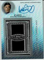 Mlb Ichiro 21 Topps Sterling 15 Autograph Jersey Cards