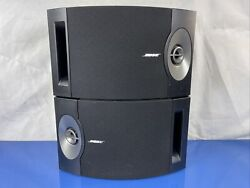 Bose 201 Series V Speakers Direct Reflecting Book Shelf Wall Mountable