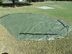 Military Surplus 3xb Tent Floor About 21 X 14 Ft Camping Hunting Nice Us Army