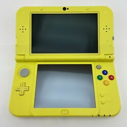 New Nintendo 3ds Xl System Yellow Pikachu Limited Edition Us Rare Fast Ship