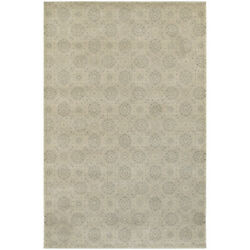 8x11 Beige Circles Flowers Dots All-over Area Rug Sphinx - Aprx 7and039 10 X 10and039 10