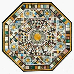 Octagon Marble Dining Table Top Antique Design Conference Table For Office 50