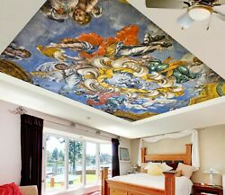 3d Vintage Oil Painting Zhu612 Ceiling Wall Paper Wall Print Decal Wall Deco Amy