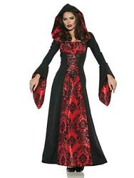 Women's Scarlet Mistress Vampire Adult Costume Dress Size Small - High Quality