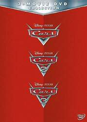 Cars 3-movie Collection Dvd New And Sealed Free Shipping