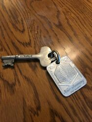 Orig Room Key + Tag From The Savery Hotel In Des Moines Iowa A Boss Hotel Rare