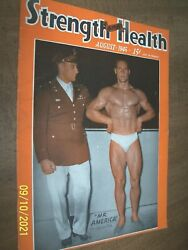 August 1945 Strength And Health And039vintageand039 Muscle Builder Clarence Ross