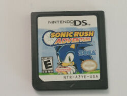 Sonic Rush Adventure - Nintendo Ds Game Card Only - Tested- Gift-usa