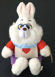 With Paper Tag Tdl Tokyo Disneyland Alice In Wonderland Hare Plush Toy White