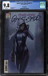 Spider-gwen Ghost Spider 1 Cgc 9.8 W Jeehyung Lee Variant Cover
