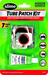 Slime Rubber Tube Tire Repair 7 Piece Patch Kit Set