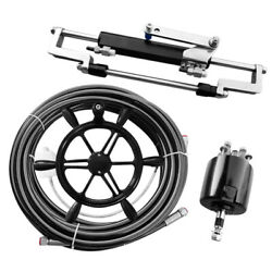 300hp 16.4ft Hydraulic Outboard Steering System Kit Czcl-g35-200 Cylinder