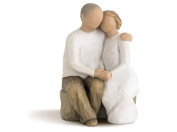 Christian Anniversary Gifts Husband Home Decor Sculpted Hand-painted Love Figure