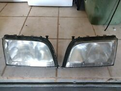 1997 Mercedes S320 Oem Left And Right Headlamp Assembly