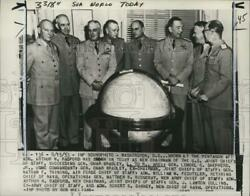1953 Press Photo Former And Current Members Of The Us Joint Chiefs Of Staff In Dc