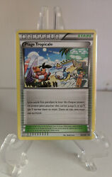 Pokemon Plage Tropicaletropical Beach And03911 Bw28 French Promo Nm/m