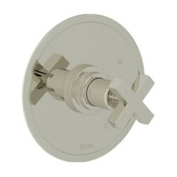 Rohla2210xmpn Polished Nickellombardia Pressure Balanced Valve Trim Only With