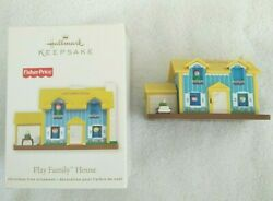 Hallmark Fisher Price Little People Play Family House Ornament 2011