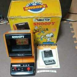 Nintendo Gamewatch Table Top Snoopy Nintendo Game Watch Snoopy