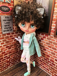 Ooak Blythe, Custom Blythe Doll, Not For Children, Collectible Doll