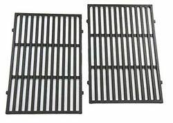 2-pack 17.5 Cast Iron Cooking Grill Grates Replacement Part For Weber Spirit 30