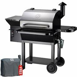 Z Grills Zpg-10002e 2020 New Model Wood Pellet Grill And Smoker, 8 In 1 Bbq Grill