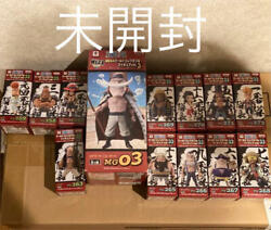 One Piece World Collectable Figure Whitebreard Pirates Complete Marco Ace Wcf