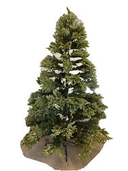 Balsam Hill Fraser Fir Narrow 7.5' With Clear Lights 1099 Electrical Issue Read