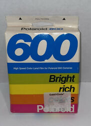 Vintage Polaroid 600 High Speed Color Land Film Expired 1987, 10 Pictures Nib