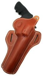 Right Hand Brown Leather Thumb Break Belt Holster For Ruger Super Redhawk 7.5