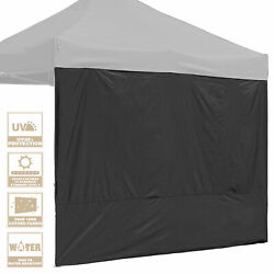 InstaHibit 1 Pack Side Wall for 10x10 Ft EZ Pop Up Canopy Tent UV50 Patio Sun