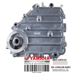Yamaha Oem Oil Cooler Assembly 6bh-13470-21-00
