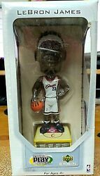 Lebron James + Rookie Card Cleveland Cavliers Bobblehead Collectible Figure