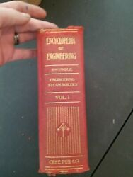 Vintage Encyclopedia Of Engineering 7 Volumes Incredible Pictures And History