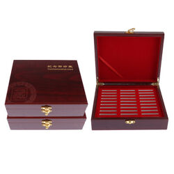 3x Coin Display Box Collector Challenge Coin Holder, Holds 30pcs 46mm Coins