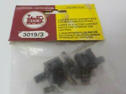 Lgb 3019/3 Electric Contact Pickup For Interior Car Lighting G Scale