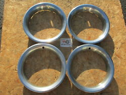 1970and039s-80and039s Chevy Pickup Truck K5 Blazer Rally Wheel 15 Trim Rings Beauty Rings