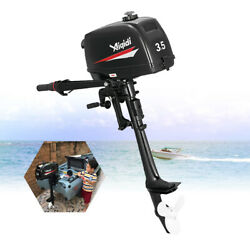 2 Stroke 3.5hp Outboard Motor Boat Engine + Water Cooling Heavy Duty + Tool Bag