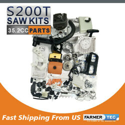 Farmertec Complete Repair Kit Crankcase Cylinder For Stihl Ms200t 020t Chainsaw