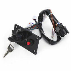 Single Ignition Switch Panel With Key 37100‑96j24 Accessory For Outboard Engines