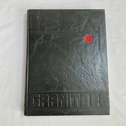 Vintage 1986 Unh University Of New Hampshire The Granite Yearbook Durham Nh